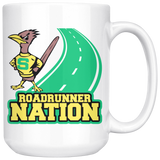 Roadrunners Retro Mascot 15oz Coffee Mug