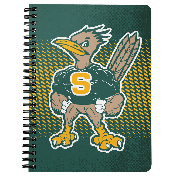 Roadrunners Modern Mascot Notebook