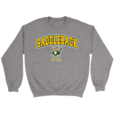 Saddleback Block Text Graphic