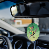 Roadrunners Retro Mascot Air Freshener 3 pack
