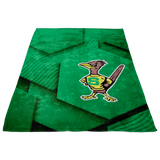 Roadrunners Retro Mascot Fleece Blanket