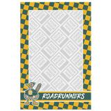 Roadrunners Modern Mascot Personalized Rectangle Canvas