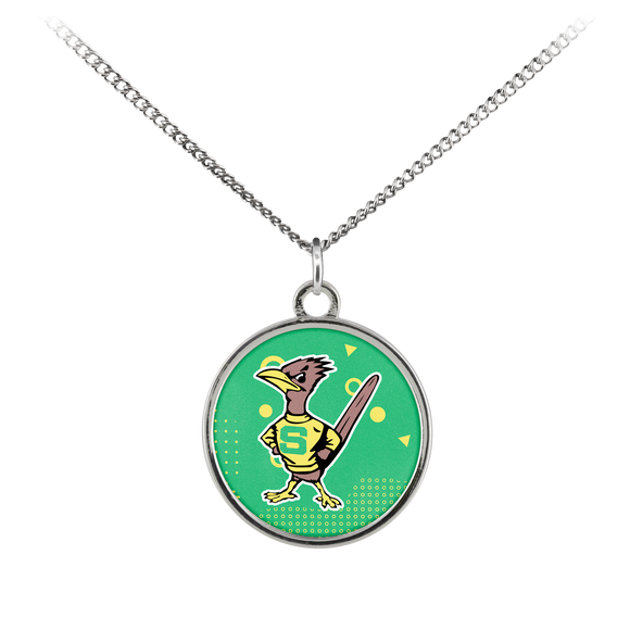 Roadrunners Retro Mascot Standard Coin Necklace
