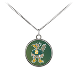 Roadrunners Modern Mascot Standard Coin Necklace