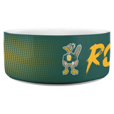 Roadrunners Modern Mascot Dog Bowl