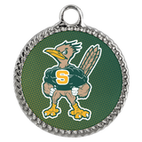 Roadrunners Modern Mascot Deco Coin Necklace