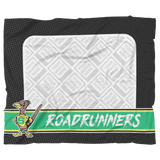 Roadrunners Retro Mascot Personalized Blanket