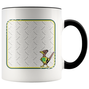 Roadrunners Retro Mascot Personalized 11oz Accent Mug
