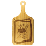 Roadrunners Modern Mascot Wood Cutting Board with Handle