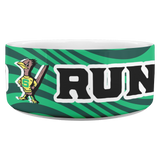 Roadrunners Retro Mascot Dog Bowl