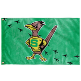 Roadrunners Retro Mascot Wall Flag