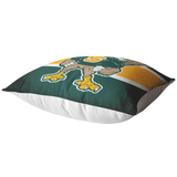 Roadrunners Modern Mascot Pillow