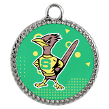 Roadrunners Retro Mascot Deco Coin Necklace