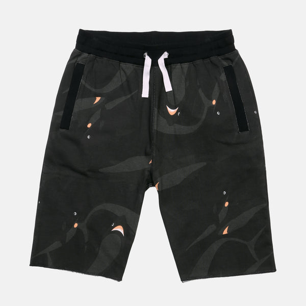 BLACK OCEAN SWEATSHORTS!