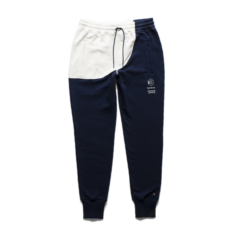 Color blocked fleece sweatpants featuring 3M reflective Reebok Starcrest... click for more information