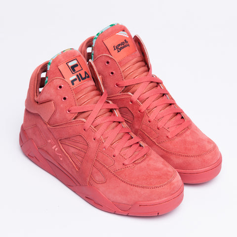 The Maui Wowie Cage is composed of an all-over watermelon suede on the h... click for more information