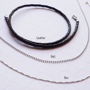 Custom chunky sterling bar necklace