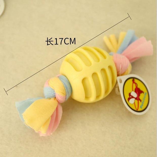Vocal Molar Rubber Toy