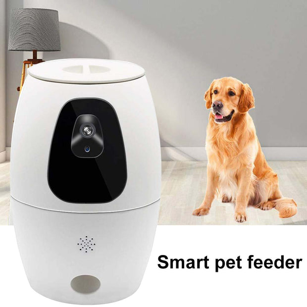 Automatic Dog Food Dispenser with Camera
