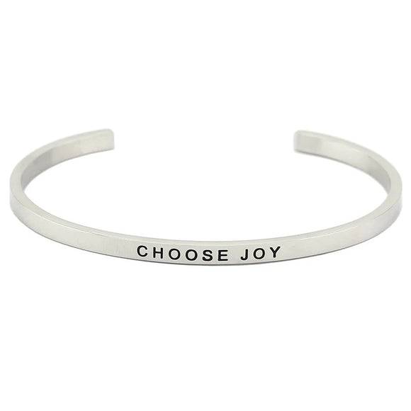 Choose Joy Affirmation Bracelet