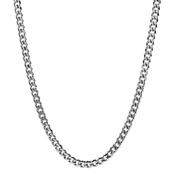Cuban Stainless Steel 6mm Necklace