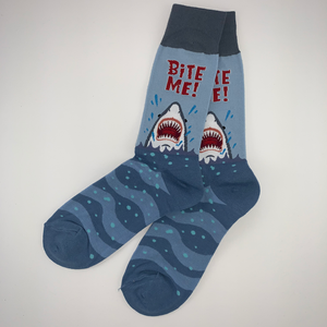 Bite Me! Shark Socks