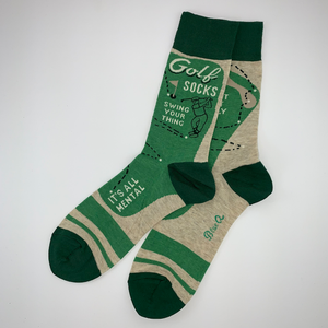 Golf Socks: Swing Your Thing