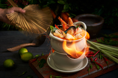 Seafood Tom Yum Soup | Chalerm Thai
