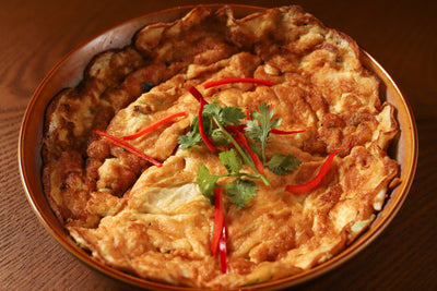 Crab Meat Omelette | Chalerm Thai