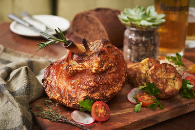 Oven Roasted Pork Knuckle | Frieda