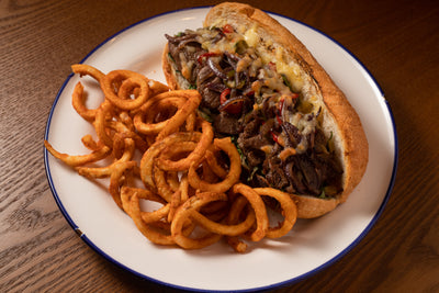 Philly Steak Sandwich | Broadway American Diner