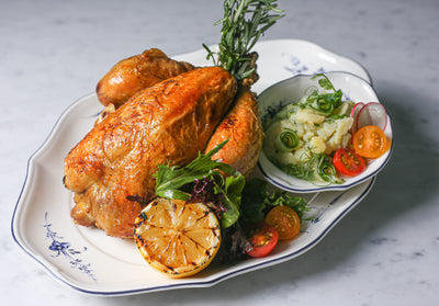 Roasted Chicken (Half) | Frieda
