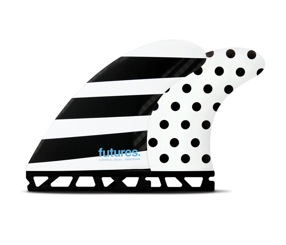 Freestone Control, Speed Control, Large Thruster Surfboard Fins