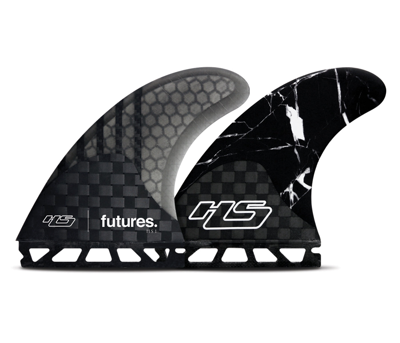 HS1 Generation, Speed Generating, Large Thruster Surfboard Fins