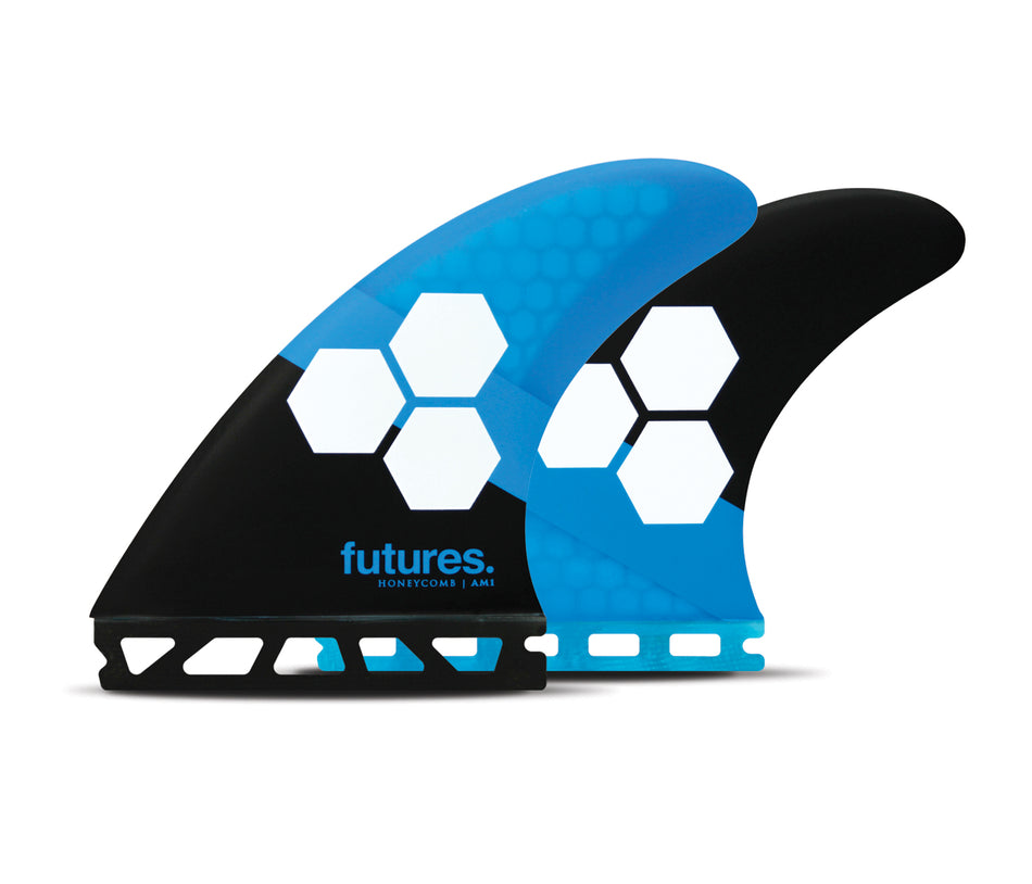 AM1 Honeycomb, Balanced, Medium Thruster Surfboard Fins