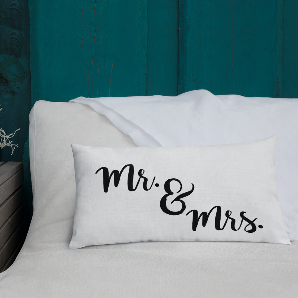 Mr. & Mrs. Premium Pillow