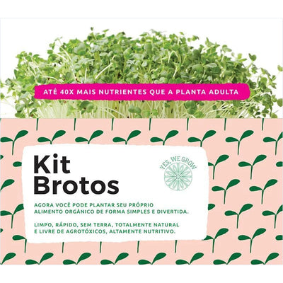 Kit Brotos + 02 Refis