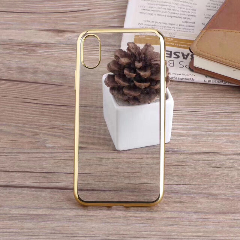 Gold iPhone X/XS Metal Frame