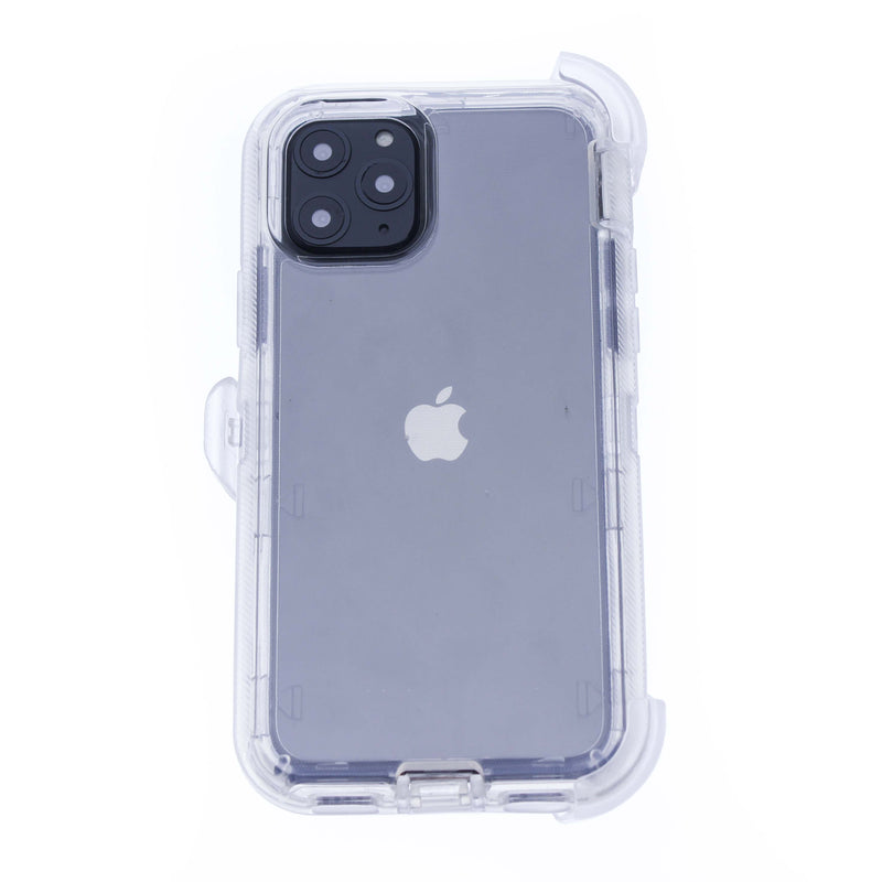 Clear iPhone 11 Pro Heavy Duty with Clear Holster