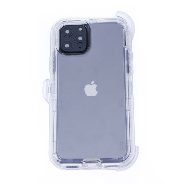 Clear iPhone 11 Pro MAX Heavy Duty with Clear Holster