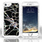 iPhone 8/7/6 Heavy Duty Marble Case Black