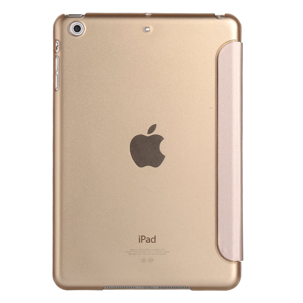 iPad Mini 4/5 Smart Cover with Sleep Mode Clear Back Gold