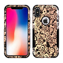 iPhone X/XS Aries Design Vines Rose Gold