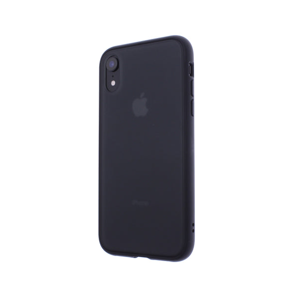 Black TPU Frame Black Button Soft Texture iPhone XR