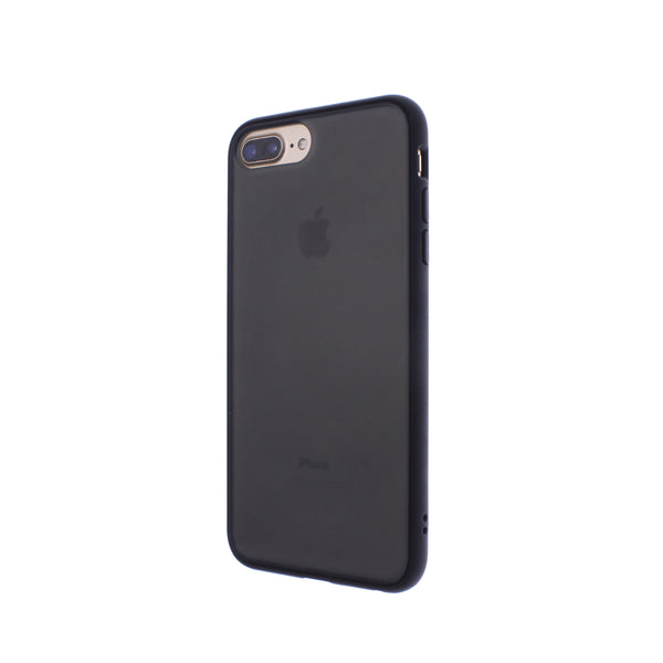 Black TPU Frame Black Button Soft Texture iPhone 6/7/8 Plus