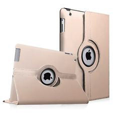 "Gold iPad 11"" 2018 PU Leather Folio Folding 360 Case"