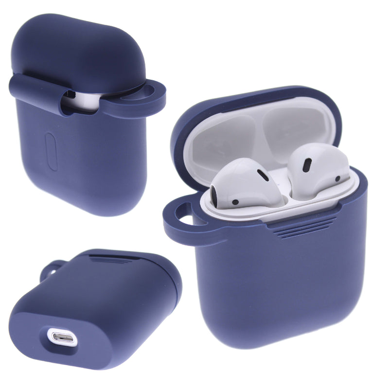 Navy PLAIN COLOR AirPods Case