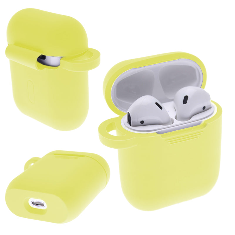 Light Yellow PLAIN COLOR AirPods Case