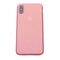 Pink Silicone Glitter iPhone XR