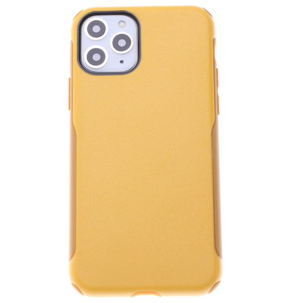Yellow Dual Hybrid Case iPhone 11 Pro Max